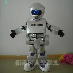 Robot Mascot Costume Suit Cosplay Party Game Dress Outfit Ha