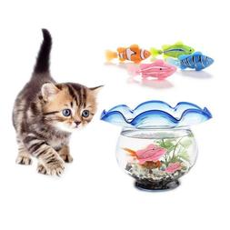 Simulation Fish Funny Cat Toy Activated Battery Fish Water R
