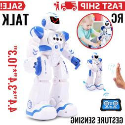 Smart RC Robot Toy, Talking Dancing Robots for Kids Remote C