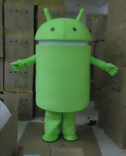 Special offer!New Android Robot adult mascot costume fancy d