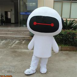 TH Robot Mascot Costume Advertising Promotion Suit Facny Dre