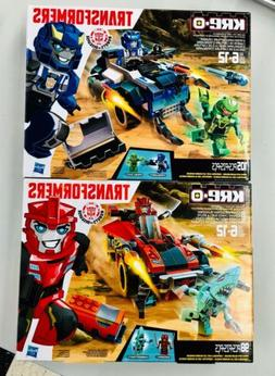 Transformers Robots in Disguise RID Kre-o Strongarm Sideswip
