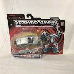 TRANSFORMERS ROBOTS IN DISGUISE RID X-BRAWN SILVER 2001 NEW