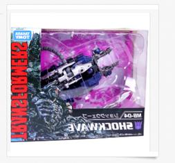 Transformers the 10 years MB-04 Shockwave actions figure kid