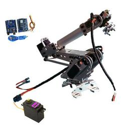 Wifi Control 6 Axis Programmable Metal Robot Arm Mechanical