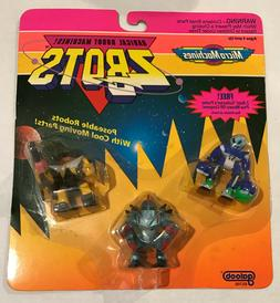 ZBOTS - Radical Robot Machines - Poseable Robots With Cool M